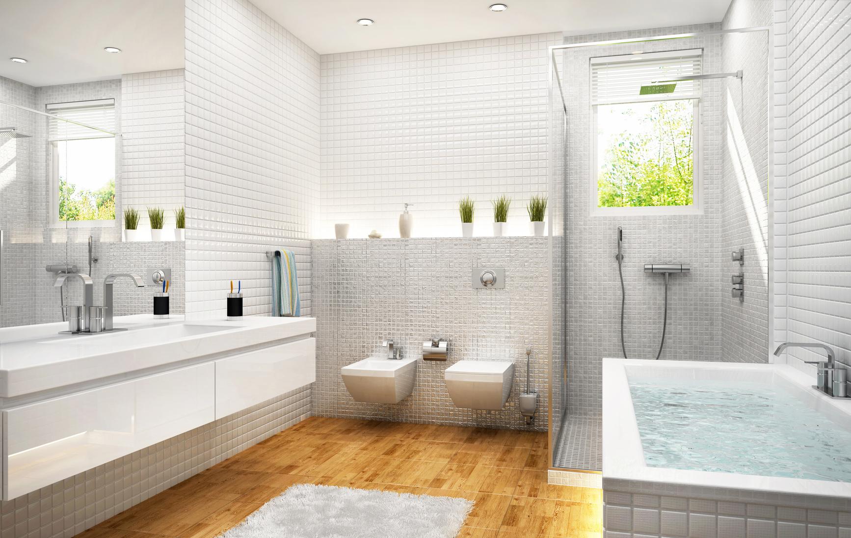 Edles für Badezimmer – Parkett in Sanitärräumen - Schmitt